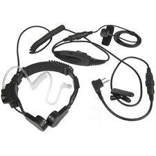 Heavy Duty VOX Throat Mic For Motorola Radio SP10 SP50 SP50+ Mag One A8 VX4100