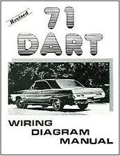 1971  71   DODGE DART   WIRING  DIAGRAM  MANUAL