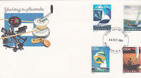 1981 Yachting in Australia FDC - Manjimup WA 6258 PMK