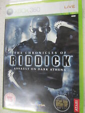 riddick assault on dark athena xbox 360