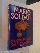 NUOVI RACCONTI DEL MARESCIALLO Mario Soldati Euroclub 1984 libro romanzo giallo