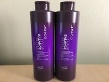 Joico Color Balance Purple Shampoo and Conditioner 33.8 oz/Liter Duo