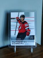 Jack Hughes 19-20 SP Authentic Winners #AW-JH RC! *DEVILS*