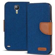 Funda Samsung Galaxy s4 mini funda FLIP CASE celular plegable bolsa, funda protectora, funda