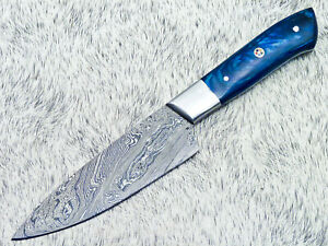 "9.5"" Kitchen Chef Knife ""Handcrafted Damascus Steel Blade"" Multi Purpose UT-9501"