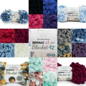 [BUY 10 GET 25% OFF] Bernat Alize Blanket EZ 180g - Loop yarn NO HOOK NEEDED