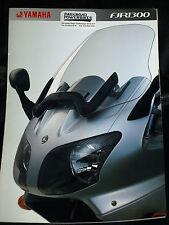 YAMAHA FJR1300 FJR 1300 SALES BROCHURE PROSPEKT 2002 ? 3MC 0107014-02E