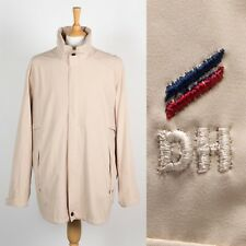 MENS DANIEL HECHTER RAIN COAT MAC PLAIN BEIGE JACKET CASUAL STYLE 90'S XL