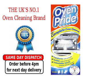 Oven Pride Complete Oven Deep Cleaner 500 ml Includes Bag Cleaning Oven Racks