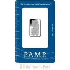 PAMP 10 Gram Palladium Bar