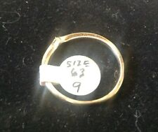 """14K gold ring guard"""""""" size 9 Can be sized"""