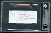 Danny Thomas signed autograph auto 2x4 cut Actor / Founder St. Jude BAS Slabbed
