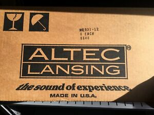 PAIR - Altec Lansing MR931-12 Mantaray Horn * Original Altec Dealer