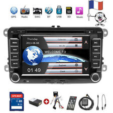 Für VW GOLF 5 PASSAT TOURAN TIGUAN POLO AUTORADIO 2 DIN GPS NAVI DVD BLUETOOTH