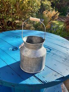 Metal Churn Vintage Style Wedding Table Flower Vase Pot Jug Milk Churn 14cm