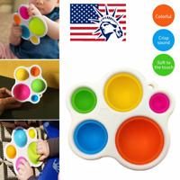 Baby Simple Dimple Fat Brain Sensory Toy Skills Development Intelligence Toy USA