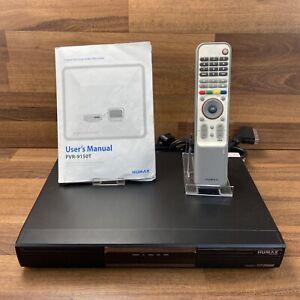 Humax PVR-9150T Freeview+ 160GB Twin Tuner Terrestrial TV Recorder Box PVR