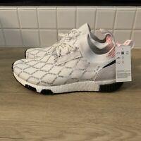 Adidas NMD Racer GTX Pk White Black Gore Tex Running Shoes BD7725 New