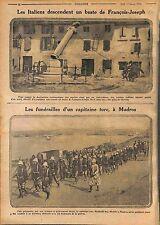 Gorizia Nova Gorica Italia Soldiers Bust Emperor Franz Joseph Slovenia WWI 1916