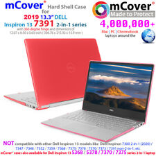 "NEW mCover Hard Case for 2019 13.3"" Dell Inspiron 13 7391 2-in-1 laptop computer"