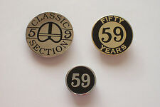 Classic Motorcycle Pin Badges Biker 59 club  Cafe Racer Triumph