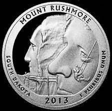 2013-S 25C ATB Quarter Mount Rushmore ccl GDC Proof 90% Silver Free Shipping