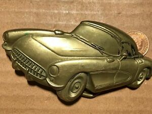 bBb Baron buckles. Solid brass 1979. Car. Very good condition. Heavy