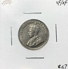 Canada 1926 Five Cents 5 Cent VF/EF
