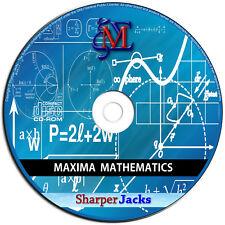 New & Fast Ship! Maxima Algebra / Trigonometry / Calculus Mathematics Software