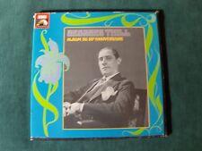 80e anniversaire de GEORGES THILL - 4 LP MONO box set LIVRET EMI 2C 153-16211/4