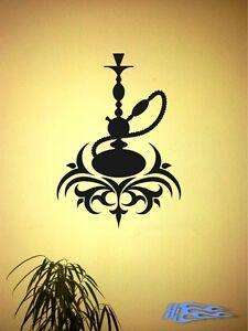 Wandtattoo Wasserpfeifen Shisha oracal MATT Wandaufkleber Deko oracal Türkei