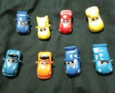 Disney Pixar Cars Mini PVC Cake Toppers set of 8