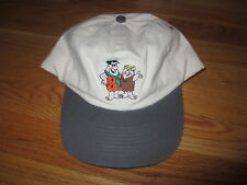 Vintage Hanna Barbara FRED FLINTSTONE & BARNEY RUBBLE (Adjustable Snap Back) Cap