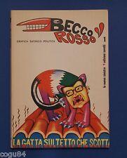Becco Rosso N. 1 - Grafica satirico politica - Ed. Savelli 1973 - Comunismo