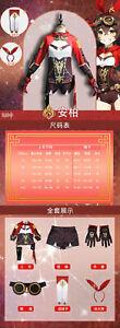Genshin Impact Cosplay Costume Hu Tao Wenti Lumine Amber Klee Xiangling Keqing
