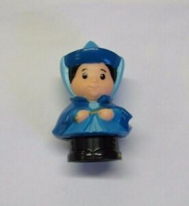 Fisher Price Little People Disney BLUE FAIRY GODMOTHER for PRINCESS AURORA