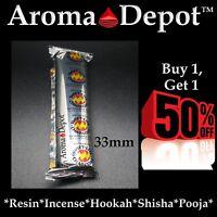 1 Pack Charcoal Tablets Swift Lite 33mm Resin Granular Incense Hookah Incense