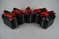 5X essence réservoir diesel 5 L Plastique incl. 5X FLEXIBLE ausgiessern