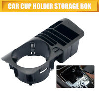 Car Central Storage Box Case Cup Holder Fit For Mercedes Benz C E GLC Class