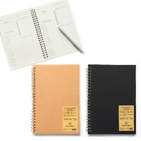 A5 Bullet Notebook Management Grid Time Journal Daily Weekly Book Planner