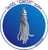Tassel 'Ghost' Silver Plated