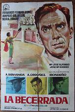 Used - Cartel de Cine  LA BECERRADA  Vintage Movie Film Poster - Usado