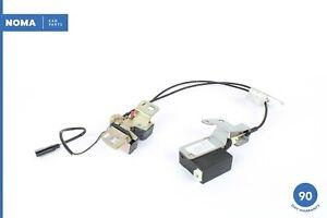 97-03 Jaguar X100 XK8 Trunk Latch Lock Release Actuator w/ Cables GJE3500AA OEM