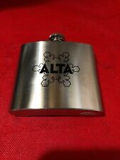 Alta Ski Resort Stainless Steel 5 Ounce Souvenir Flask