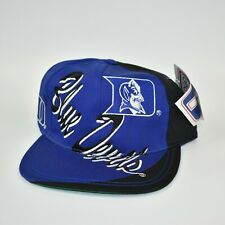 Duke Blue Devils Vintage 90's Logo 7 Men's NCAA Adjustable Snapback Cap Hat
