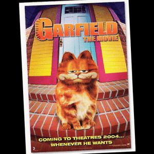 GARFIELD 2004 PACIFIC Full MOVIE Set of 28 Trading Cards - Mint - VISIT POG SHOP