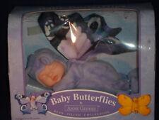 2001 Anne Geddes Baby Butterflies Purple Bean Filled Collection Doll Nip #1