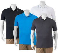 New FILA SPORT GOLF Big&Tall Athletic-Fit Pro Core Performance Polo 5 Colors $48
