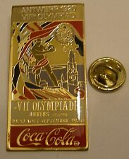 Pins coca cola Olympics ANTWERP 1920 VIIth OLYMPIAD ANVERS JO Olympics Games