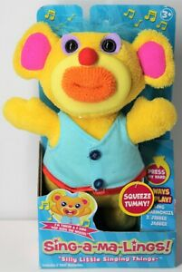 FUNRISE SING-A-MA-LINGS TINKER SINGS POP GOES THE WEASEL 2017 YELLOW AGES 3+ NEW
